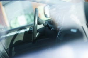 bilnøgle med startspærre